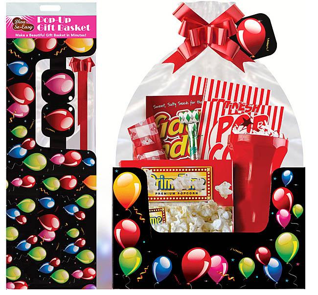 Balloons Galore Birthday Gift Basket Large